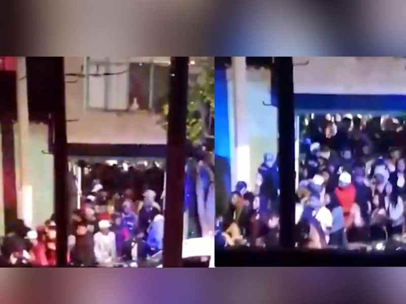 Más de 200 jóvenes fueron desalojados de fiesta en Chimalhuacán