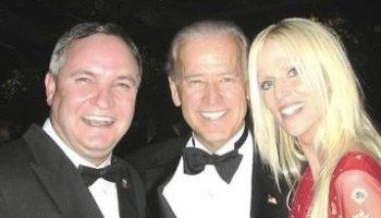 Pareja que se coló a una cena de Estado en la Casa Blanca se tomó una foto con Biden