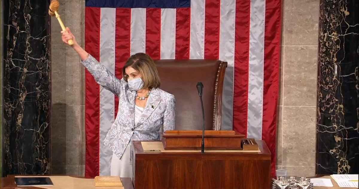 Reeligen a Nancy Pelosi como presidenta de la Cámara de Representantes