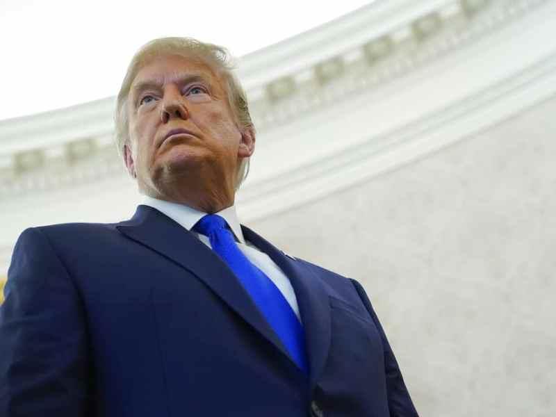 Vayan a casa, pide Trump a partidarios que irrumpieron en Capitolio