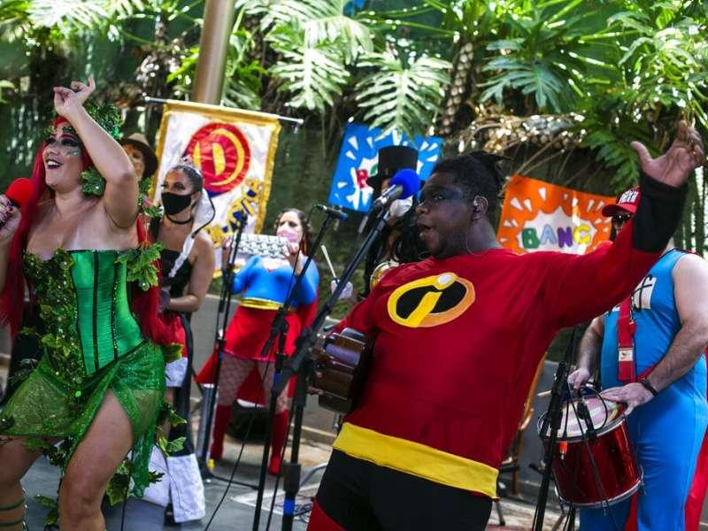 Carnaval de Brasil pasa a la internet debido a COVID-19 2