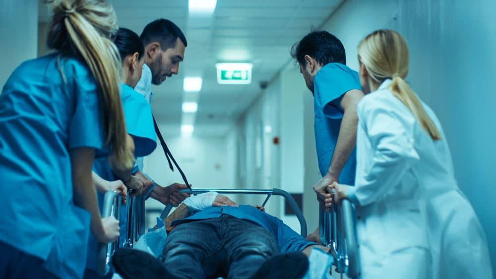 Cuál es la principal causa de visita a los hospitales en Carolina del Norte