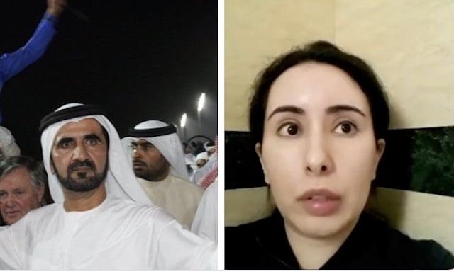 La Princesa de Dubai desaparece misteriosamente