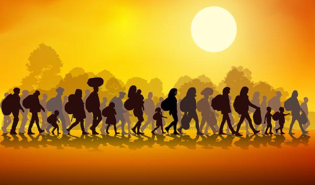 8,600 solicitantes de asilo ahora registrados para regresar a Estados Unidos desde México