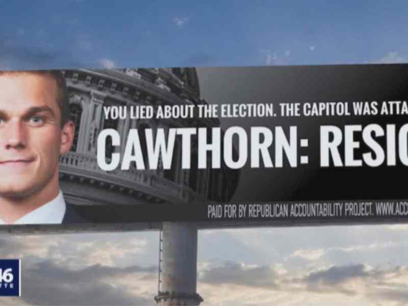 Madison Cawthorn Capitolio