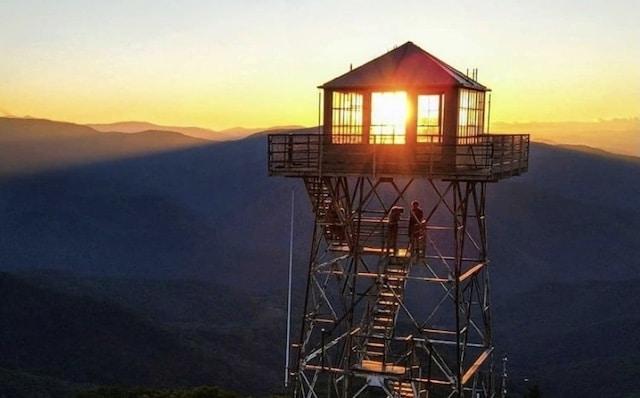 Torre Fryingpan en Carolina del Norte