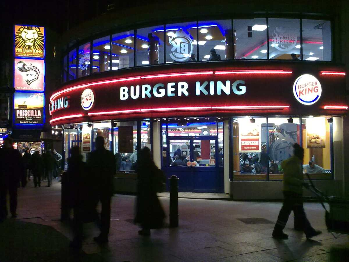 Burger King Twitter Mujer