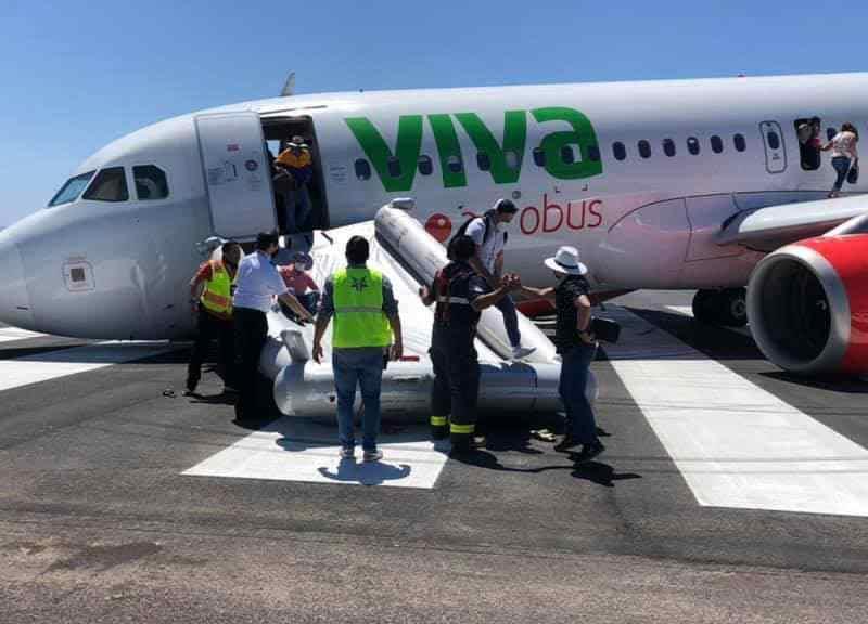 México: avión tiene falla antes de despegar
