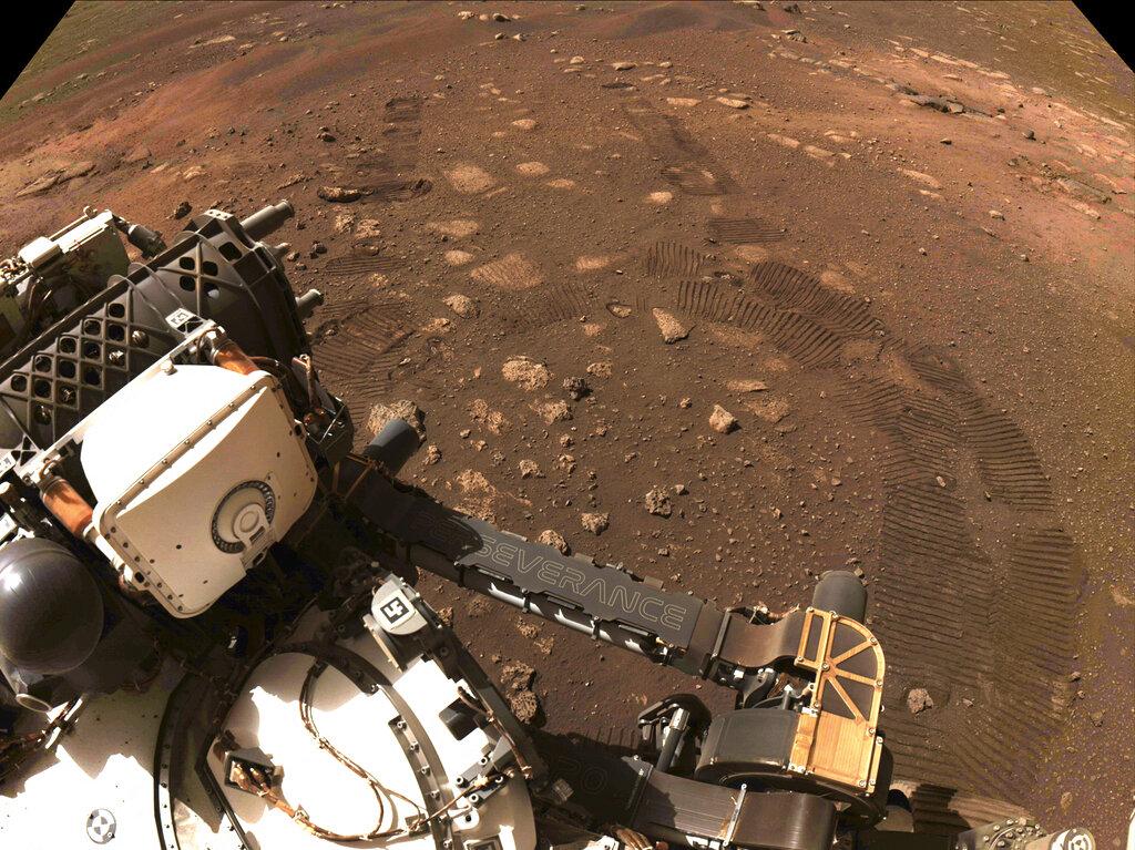 NASA sabrá si su helicóptero voló en Marte