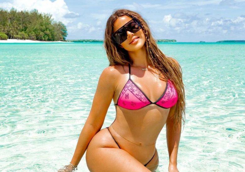 Khloé Kardashian foto sin editar