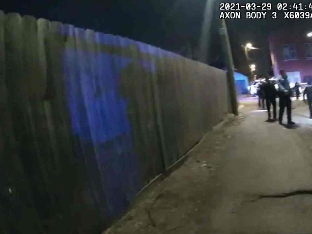 video asesinato adam toledo policía chicago