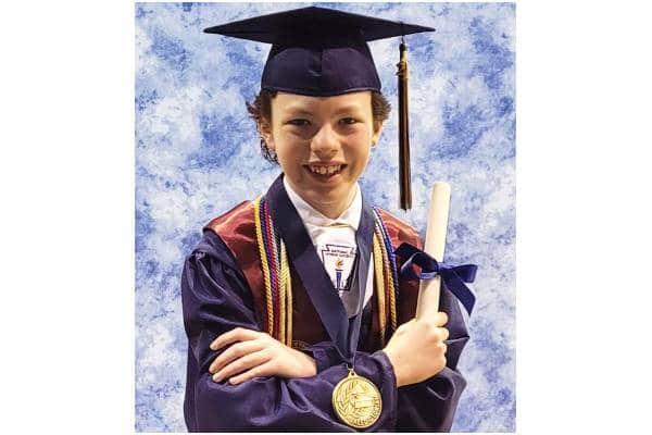 Niño de 12 años se graduará de la universidad en Carolina del Norte