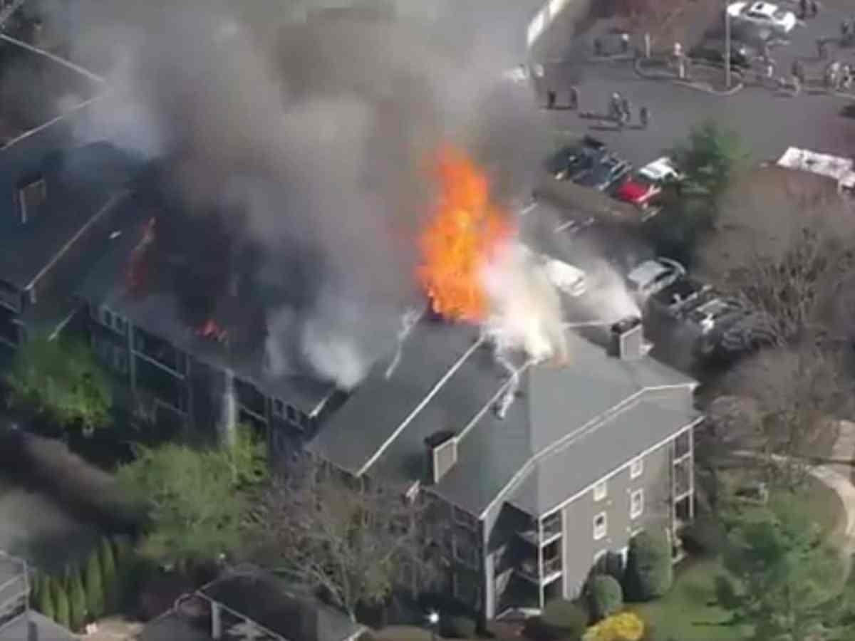 incendio destruó edificio en nueva jersey