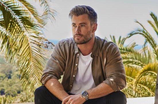 Chris Hemsworth trasero pantalones