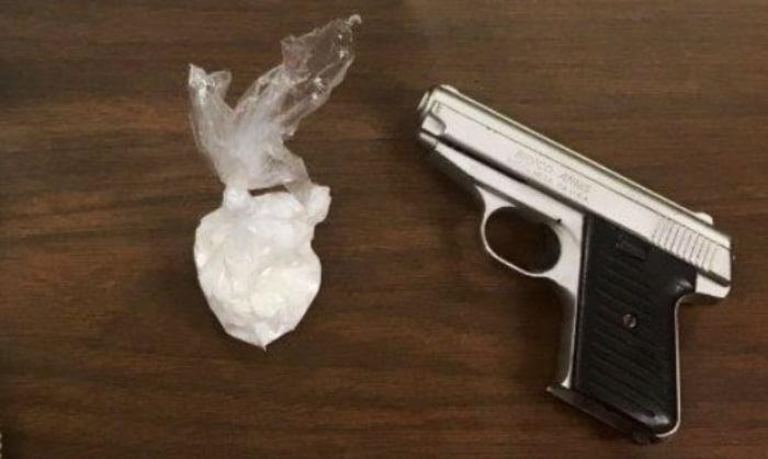 Cocaína y armas Carolina del Norte