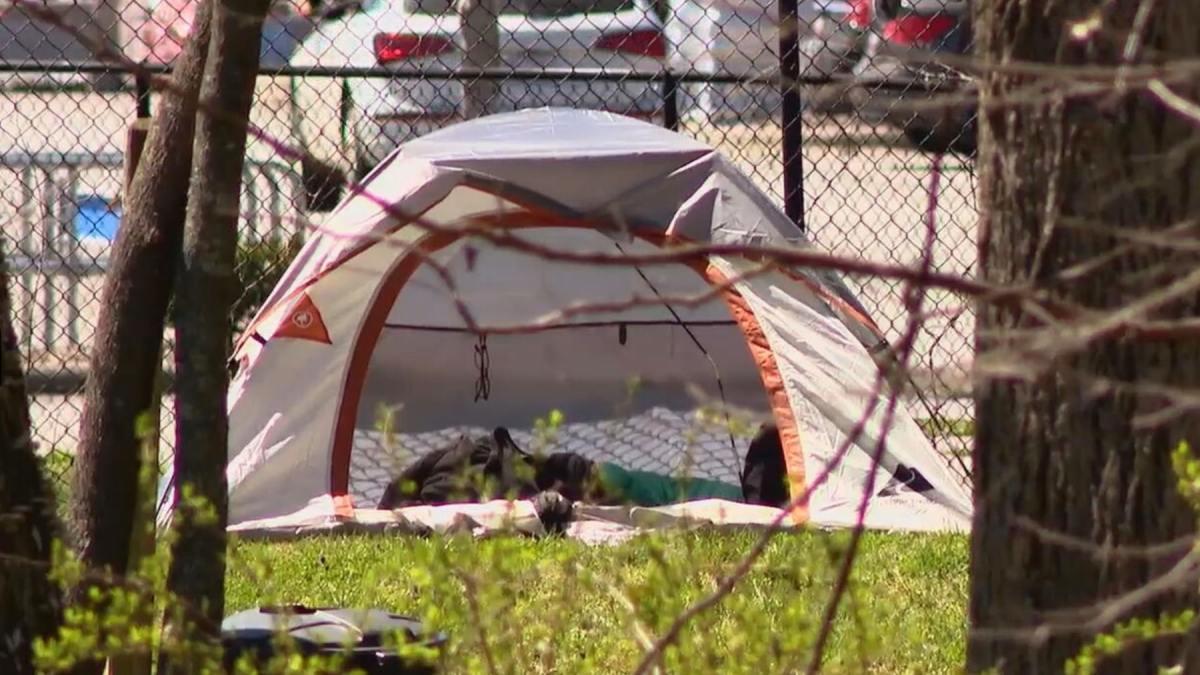 Personas sin hogar Asheville