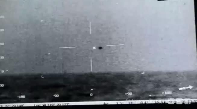 Filtran video de presunto ovni, fue grabado por la Armada