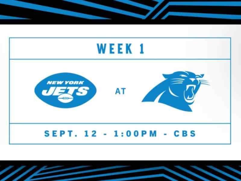 Panthers vs Jets NFL 2021