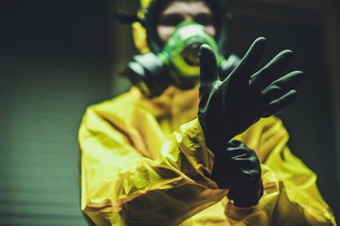 Material radiactivo robado en Durham