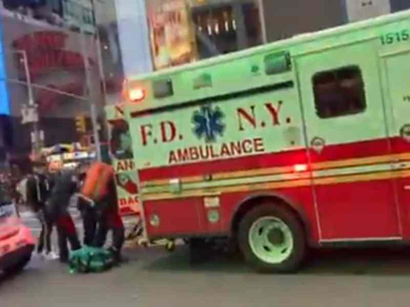 Niña de 4 años herida en tiroteo de Times Square