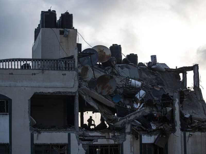 Suben a 24 los muertos por bombardeo de Israel a Hamas, 9 son niños