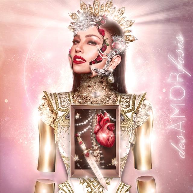 """Thalía abre de par en par su corazón en su nuevo material """"desAMORfosis"""""""
