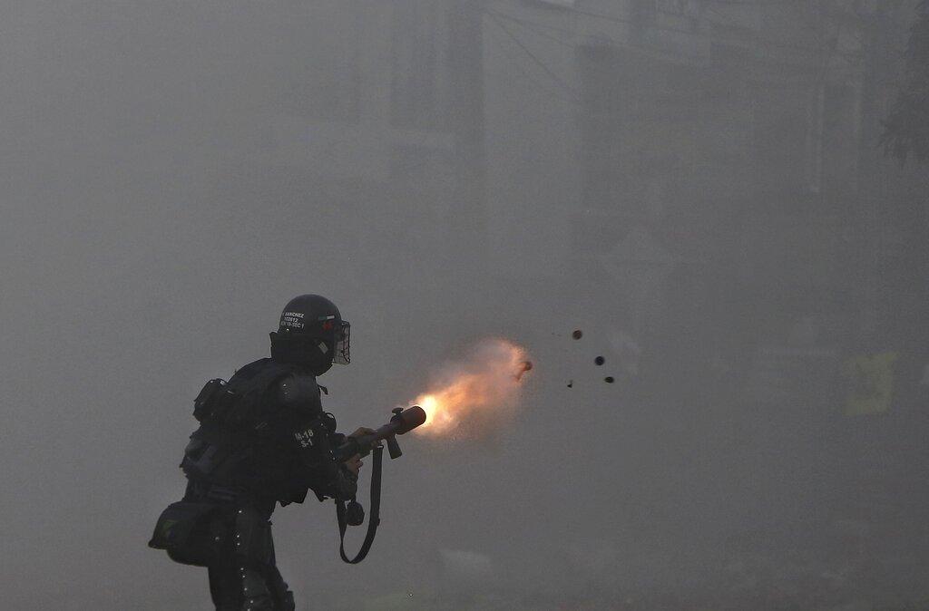 Violentas protestas estallan en Colombia las fotos de la semana (4)