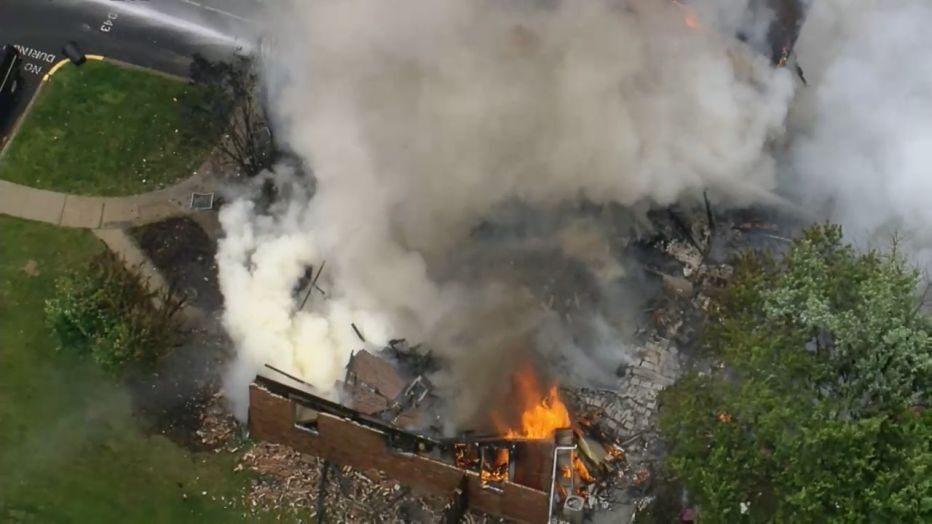 casas montgomery pensilvania explosión