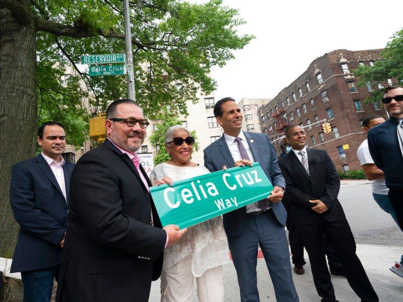 Celia Cruz el nuevo nombre de una calle en Nueva York