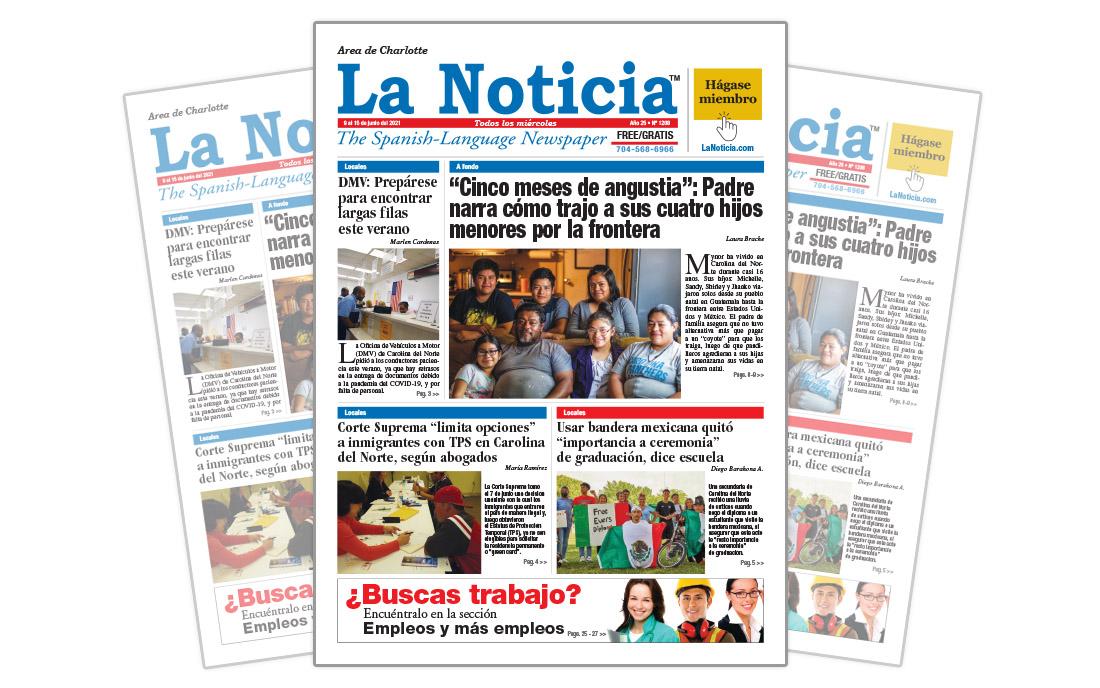 La Noticia Charlotte Edición 1208