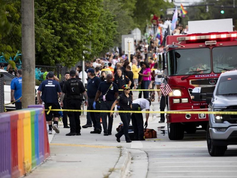 Choque en marcha LGBTQ+ de Florida fue un accidente