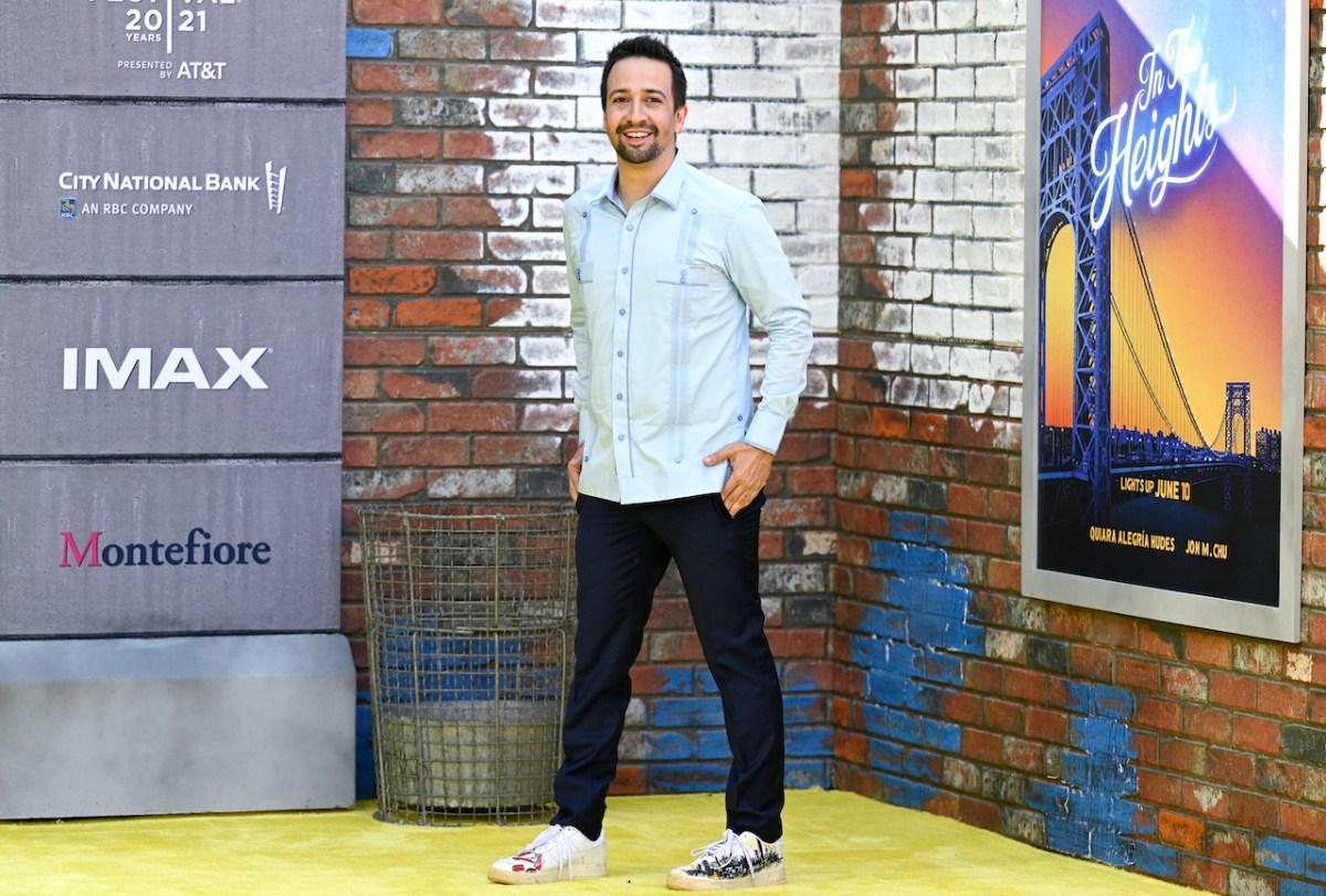 """Lin-Manuel Miranda es fuertemente criticado por """"In the Heights"""""""