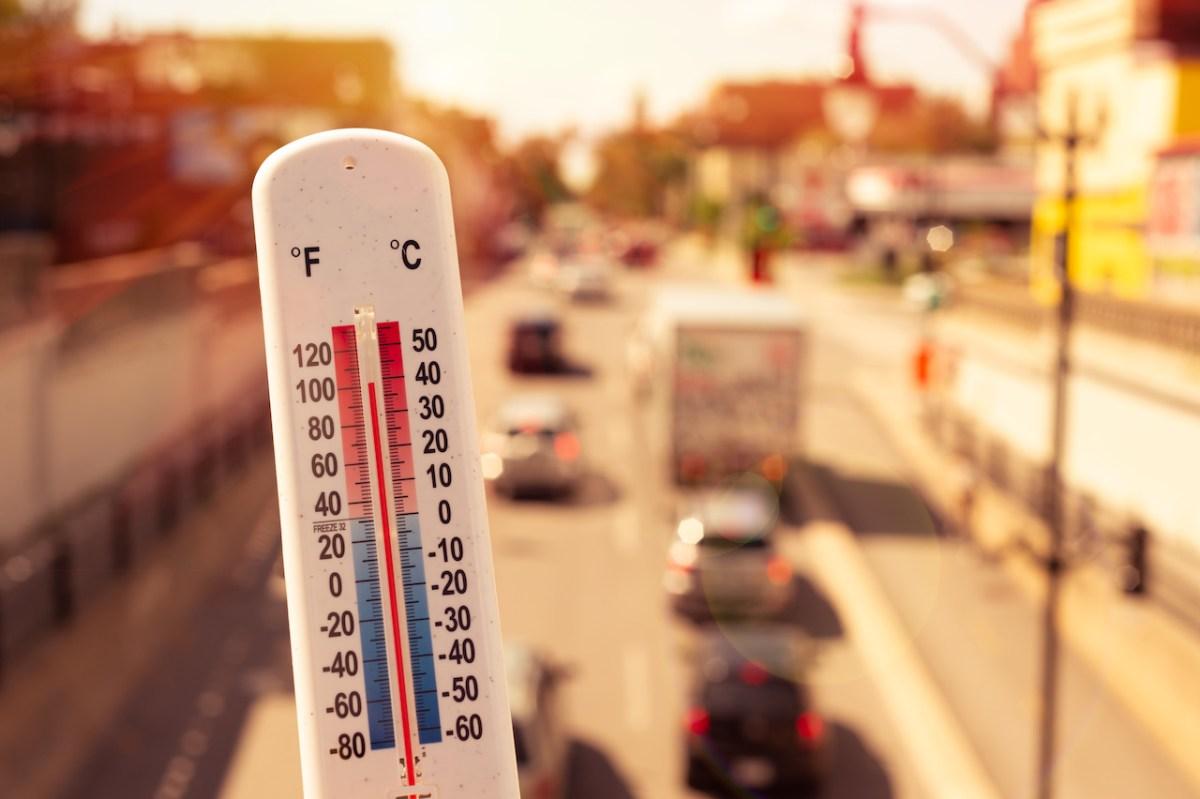 Ola de calor extremo rompe récords en el país