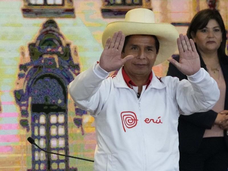 Resultados en Perú se tornan a favor de Pedro Castillo con 93 % de actas escrutadas