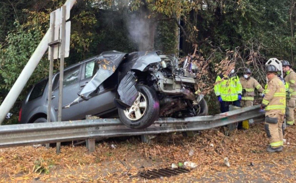 Accidente en Greensboro