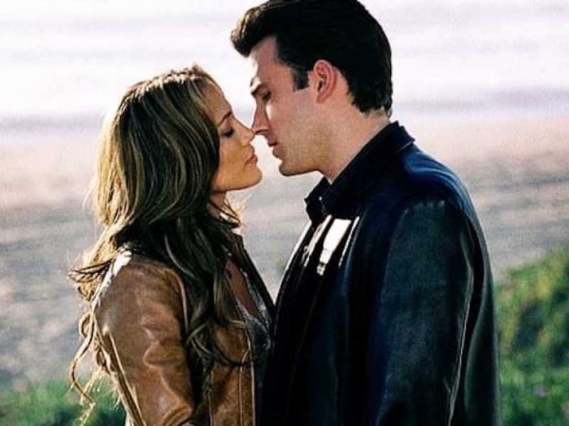 Finalmente, se filtra imagen de Jennifer Lopez y Ben Affleck besándose