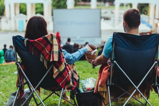 Las películas gratuitas al aire libre regresan a Raleigh