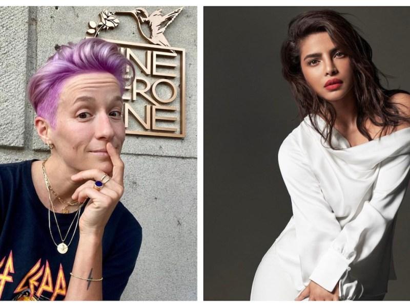 Megan Rapinoe y Priyanka Chopra, nuevas portavoces de Victoria's Secret