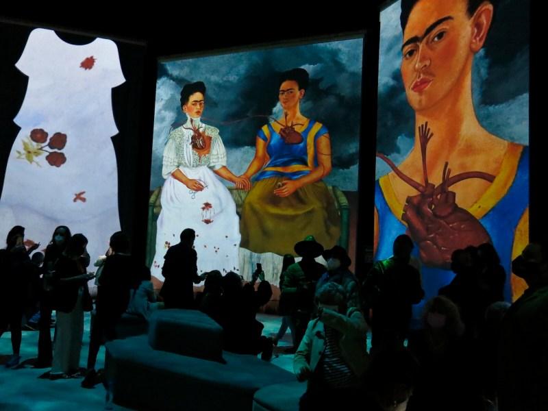 Inauguran exposición inmersiva de Frida Khalo