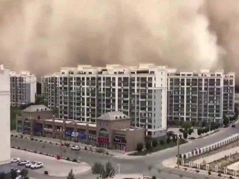 tormenta arena ciudad china