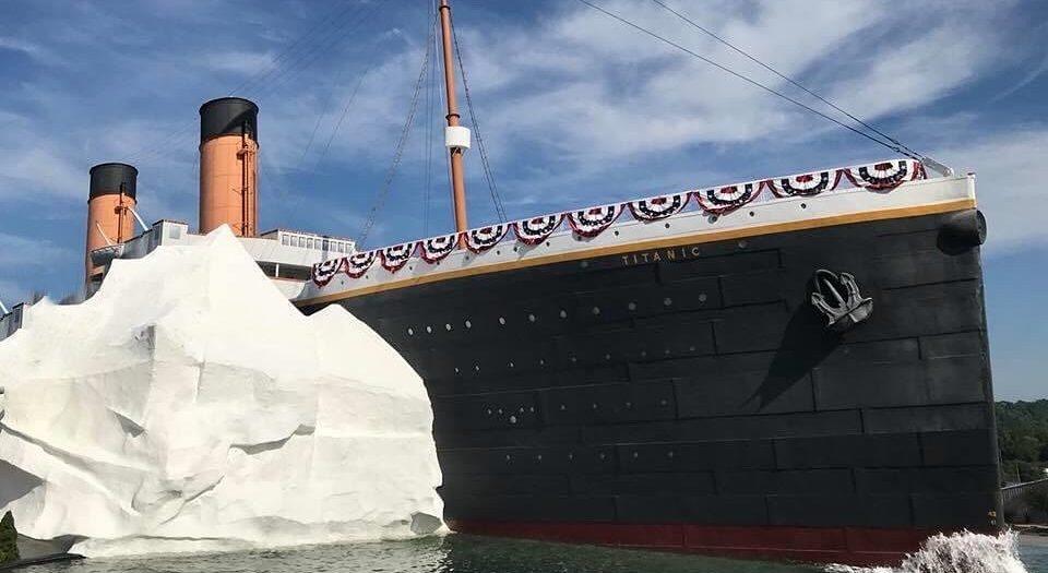 titanic museo muro hielo