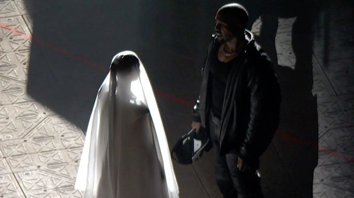 Kim Kardashian Kanye concierto