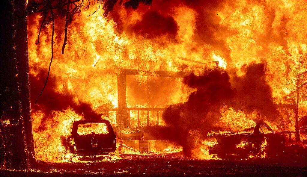 Dixie Fire Greenville California
