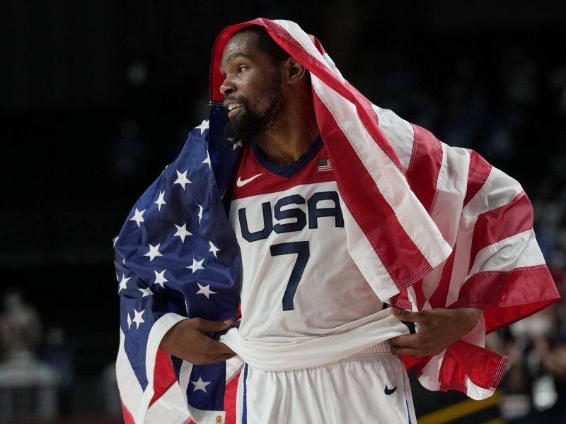 Kevin Durant y Estados Unidos ganan el oro en Tokio 2020