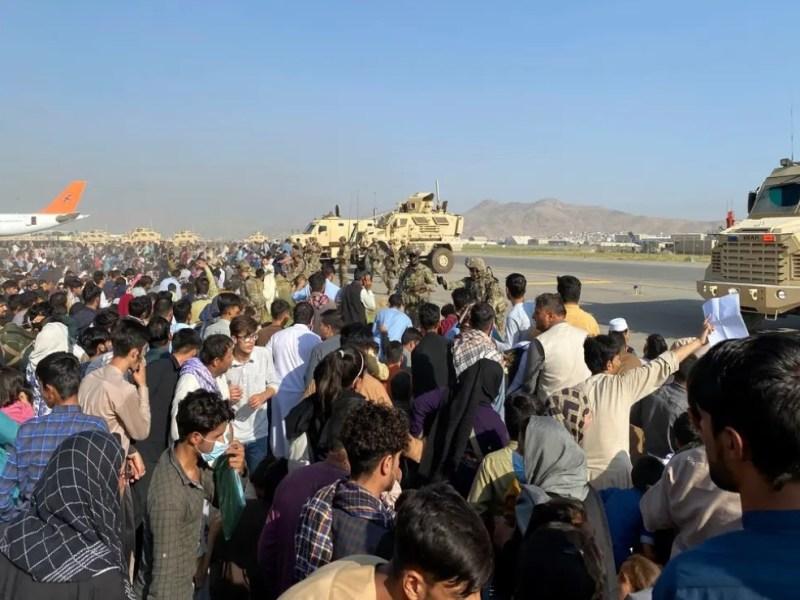 EE.UU. personas desalojadas Afganistán