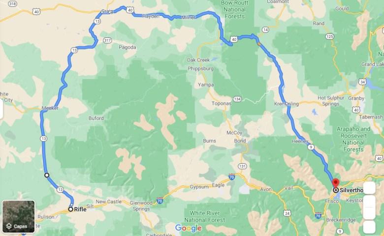 I-70 en Glenwood Canyon seguirá cerrada, ¿qué ruta tomar?