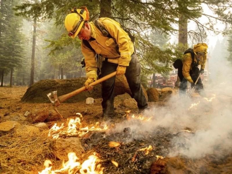 Incendio forestal dixie