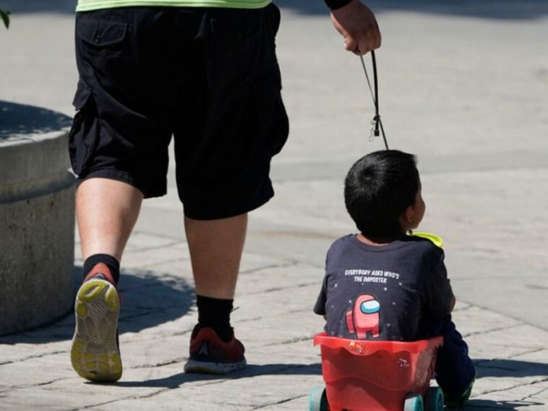 padres niños migrantes separados