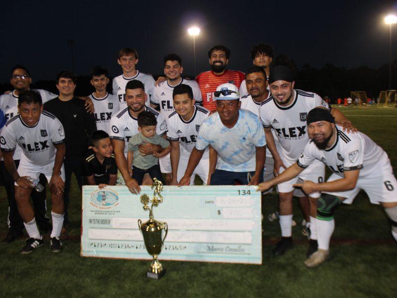FC Los Ángeles, campeón del Torneo de Ascenso. (Foto: Gustavo Cruz)