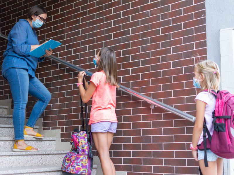 Seis empleados y estudiantes de Atkinson Elementary en el condado de Henderson han dado positivo a COVID-19. © Nenad / Adobe Stock
